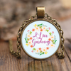 Image of I Love Gardening Pendant Necklace
