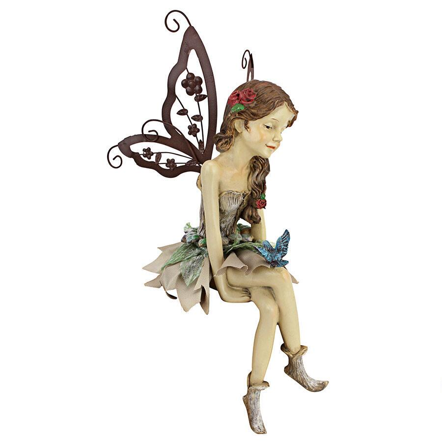 Fannie The Fairy Sitting Statue Garden Lovers Club
