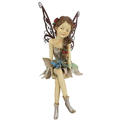 Fannie, the Fairy - Sitting Statue