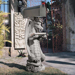 Zippy, the Dragon Sculptural Mail Post