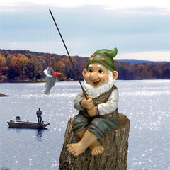 Ziggy, the Fishing Gnome