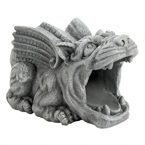 Roland the Gargoyle Gutter Guardian Downspout Statue