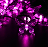 Image of 40 LED Solar Powered Butterfly String Lights