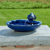 Image of Ceramic Solar Koi Fountain