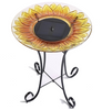 Image of Sunflower Solar Birdbath