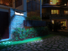Image of 54 LED Wall Solar Light With PIR Motion Sensor