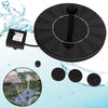 Image of Solar Powered Fountain Pump With Battery Backup