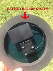 Solar Powered Fountain Pump With Battery Backup