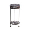 Image of Cast Iron Plant Stand - Round