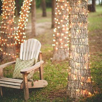 100 LED Outdoor Solar Powered Fairy String Lights