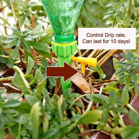 Adjustable Self Watering Plant Stakes (12 pcs/set )