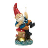 Image of Fishing Gnome Solar Statue