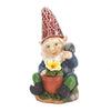 Image of Solar Powered Gardening Gnome Statue