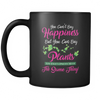 Image of You Can't Buy Happiness - But You Can Buy Plants (BLACK) Mug