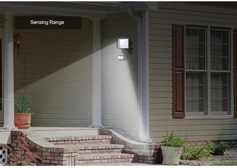 LED Solar Powered Wall Light With PIR Motion Sensor