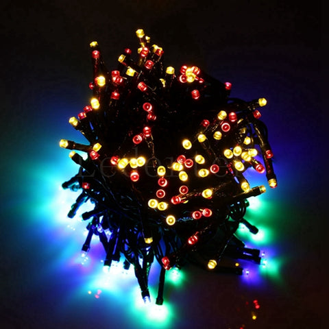 200 LED Outdoor Solar Powered Fairy String Lights