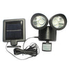 Image of Outdoor Solar LED Wall Lamp With Motion Sensor