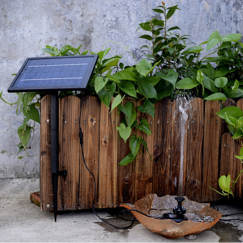 Max Flow Solar Powered Water Pump With Built-in Storage Battery