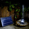 Image of Max Flow Solar Powered Water Pump With Built-in Storage Battery