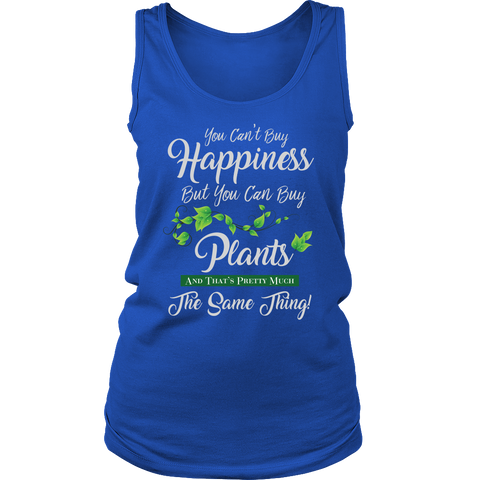 Womens Tank - You Can't Buy Happiness