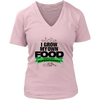 Image of Womens V-Neck - I Grow My Own Food