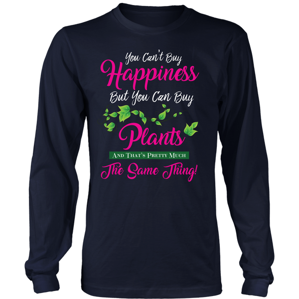 Long Sleeve Shirt - You Can't Buy Happiness