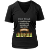 Image of Women's V-Neck - Dirt Tired