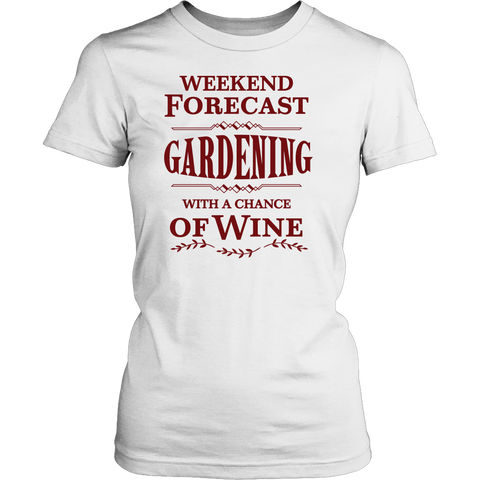 Women's Shirt - Weekend Forecast