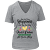 Image of Women's V-Neck - You Can Buy Plants & Chickens
