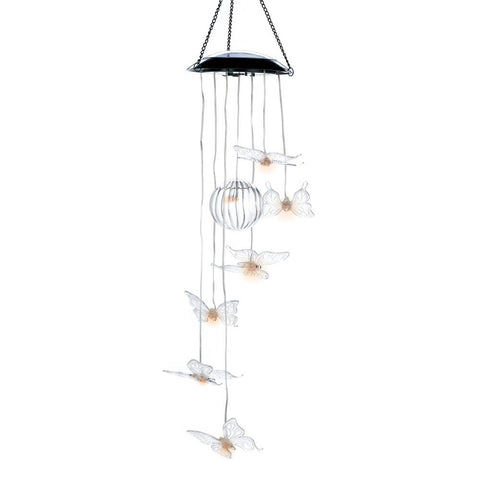 Solar Butterfly Chime