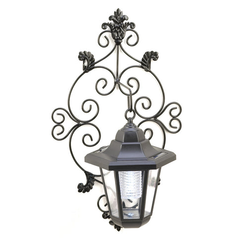 Decorative Solar Garden Wall Lantern