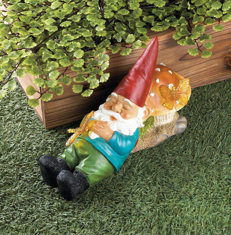 Solar-Powered Sleepy Gnome