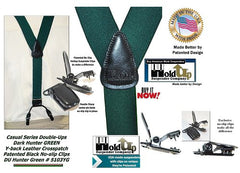 Irish Green Holdup Suspenders