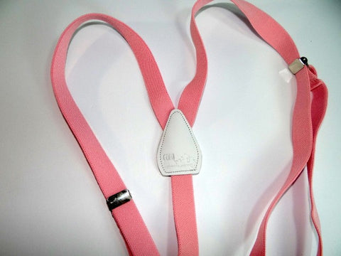 Light Pink Urban Youth Series Y-back suspender for girls