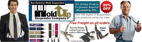CyberMonday Sale with all Holdup products discounted 25% with no quantity requirement