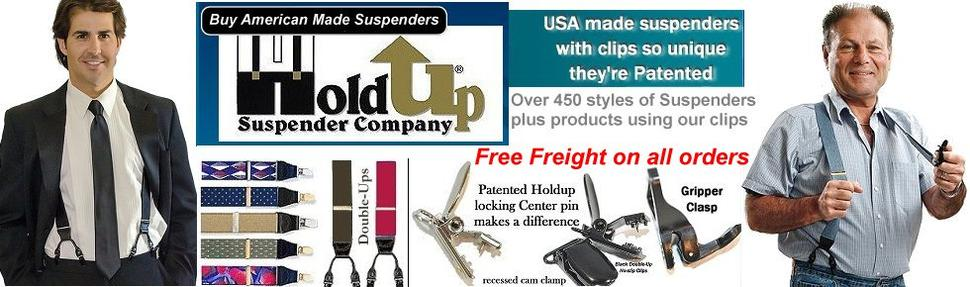 Holdup Suspender Company Amazon webshop powered by Shopify and maintained by Image Marketing Services Mike Hyland