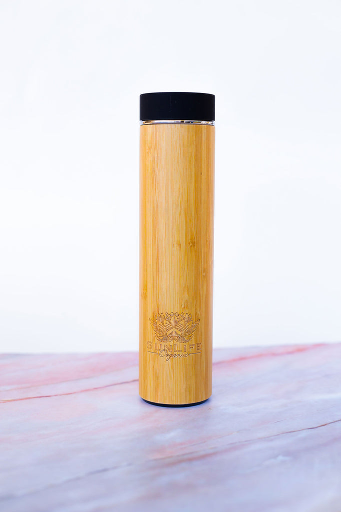 SunLife Bamboo Insulated Bottle