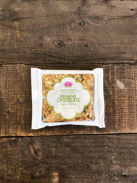 SunLife Organics Granola Bar - Banana Chocolate