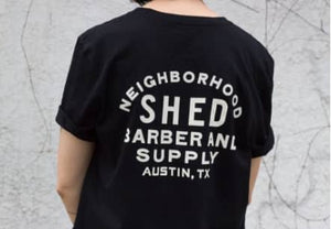 SHED Neighborhood Barber T-Shirt