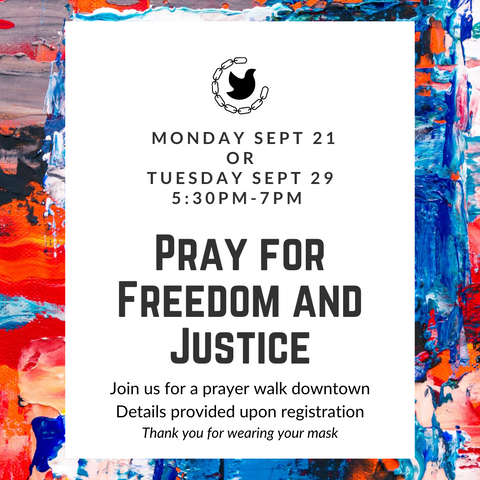 Pray for Freedom and Justice
