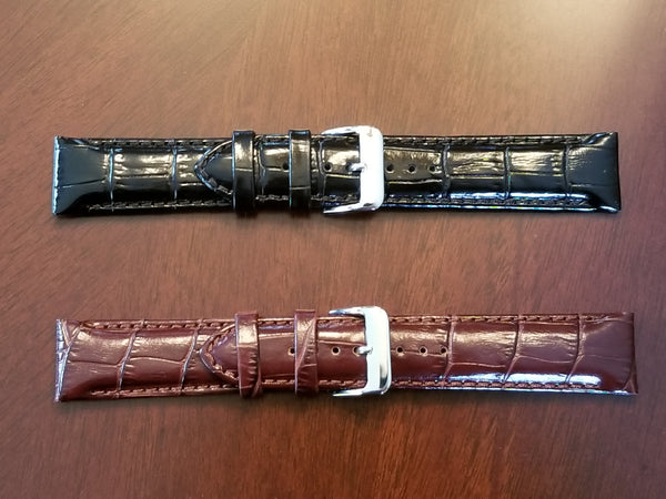 Genuine Italian Leather 22mm Band
