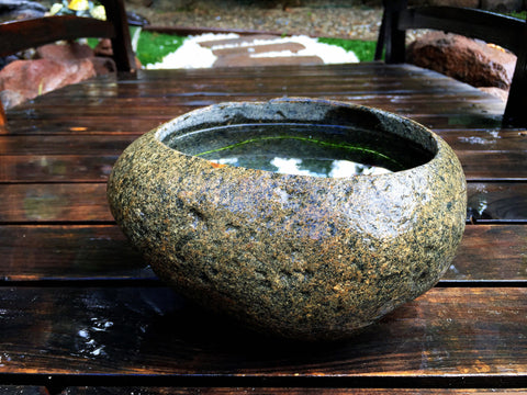 Natural Stone Flower Pot / Planter / Fish Tank / (3)