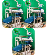 3 OP Adec 511 Dental Chair w/ Delivery System Assistant Package & Light (Freight Shipping)