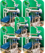 5 OP Adec 511 Dental Chair w/ Delivery System Assistant Package & Light (Freight Shipping)