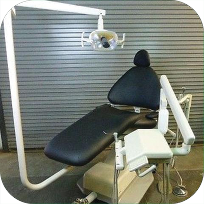 ADEC 1040 Dental Chair W/ Cascade Delivery Unit & 6300 Light (Freight Shipping)