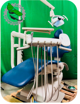 Adec 511 Dental Chair w/ Delivery System Assistant Package & Light (Freight Shipping)