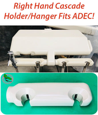 RIGHT HAND REPLACEMENT DENTAL HANGER Fits ADEC Cascade Delivery Holder