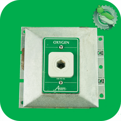 Oxygen Wall Outlet Dental Ohmeda Quick Conn Fitting / Wall Recessed