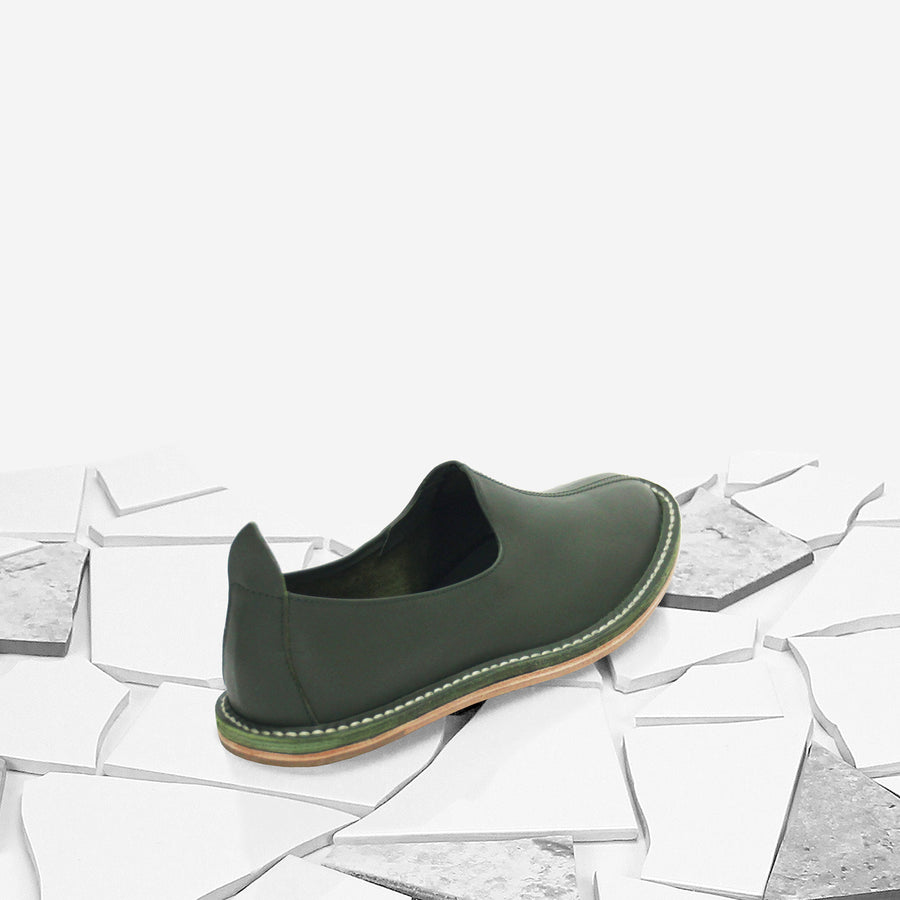 Olive Classic Moccasin