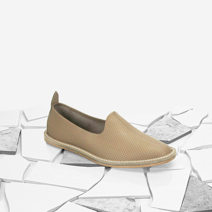 Terra Perforated Classic Moccasin